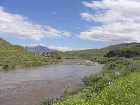 DOWNSTREAM PHOTOGRAPH - HUMBOLDT RIVER - PALISADE (PALN2)