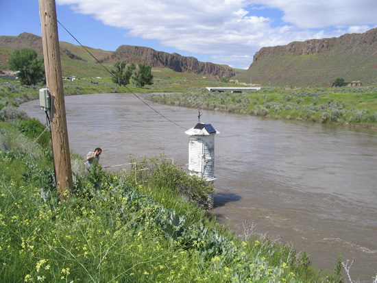 UPSTREAM PHOTOGRAPH - HUMBOLDT RIVER - PALISADE (PALN2)