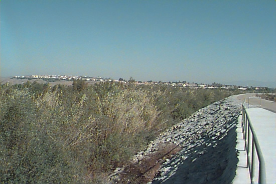 UPSTREAM PHOTOGRAPH - SAN LUIS REY RIVER - OCEANSIDE (SLOC1)